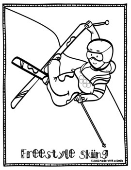 Olympic Coloring Pages