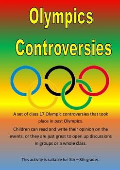 Olympics Controversies