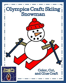 Olympic Craft Pack: Torch and Rings, Hockey, Bobsledding, Ice Skating