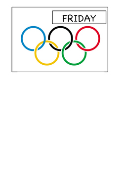 Olympic Days of the Week