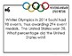 Olympic Decimal and Percent  Scavenger Hunt