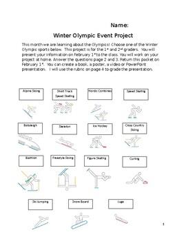 Olympic Event Presentation
