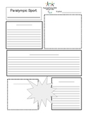 Paralympic and Olympic Fact Sheet Template