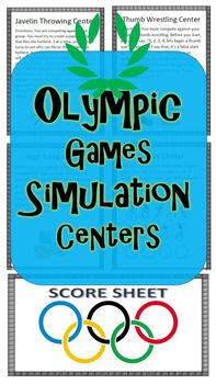 Olympic Games Simulation Centers