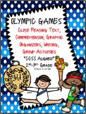 Olympics NO PREP Close Reading Text Passages, Activities a