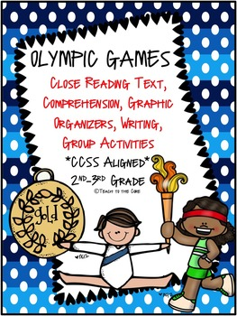 Olympics NO PREP Close Reading Text Passages, Activities a