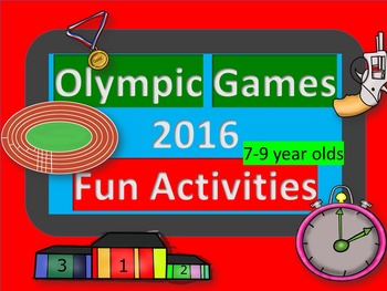 Olympic Games Fun Activities 2016