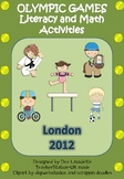 Olympic Games Literacy and Math Activities 2012