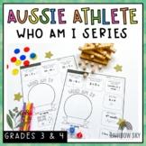 Olympic Games Maths Activity   Australian Athletes   Years 3-4