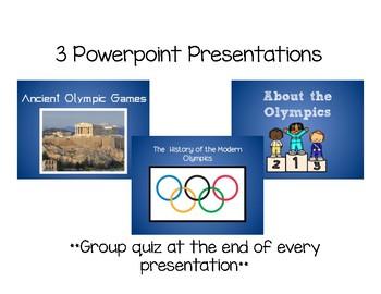 Olympic Games Mini Unit