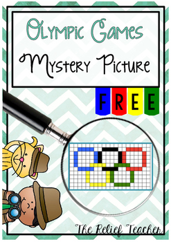 2016 Olympic Games Mystery Picture *FREEBIE!*