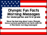 Olympic Games Paperless Morning Messages