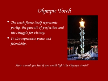Olympic Games Power Point