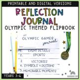 Olympic Games Reflective Journal  Flipbook | Grade 3-6: Su