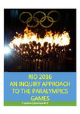 Paralympic Games - Rio 2016. A Simulation and Webquest