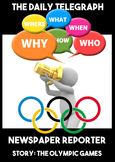Olympic Games Rio 2016 Newspaper Writing Scandal Scenario