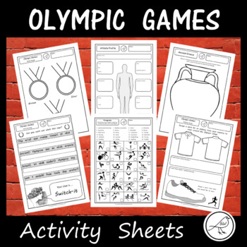 Olympic Games - Tokyo 2020 - Activity Sheets