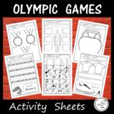 Olympic Games - Tokyo 2020 - Activity Sheets