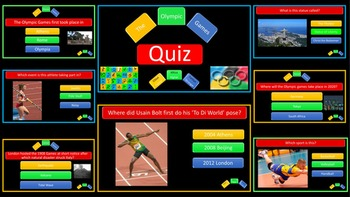 Olympic Games and Rio 2016 Quiz
