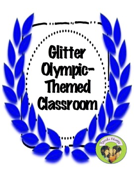 Olympic Glitter Themed Classroom Kit