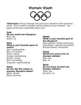 Olympic Glyph