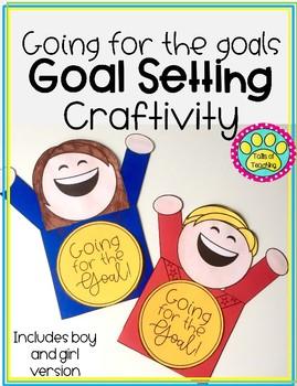Olympic Goal Setting Craftivity