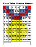 Olympic Gold Medal Place Value Math Mystery Picture - 8.5x11