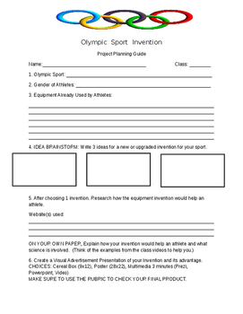 Olympic Invention