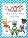 Olympic Literacy and Math Centers