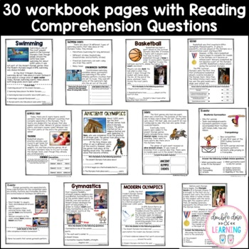 Discovering the Summer Olympics [MEGA] 6-Part Unit with PowerPoints!