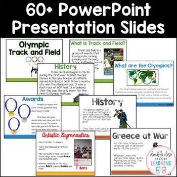 Discovering the Summer Olympics [MEGA] 6-Part BUNDLE Unit with PowerPoints!
