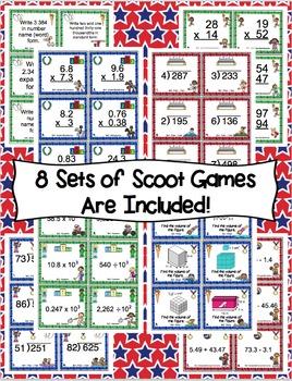 Olympic Math Bundle 5th Grade