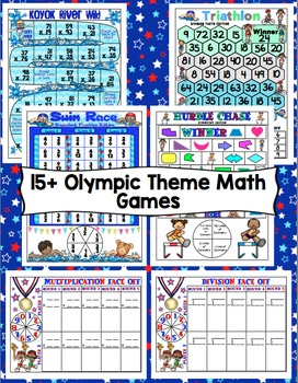 Olympic Math Games 4th Grade