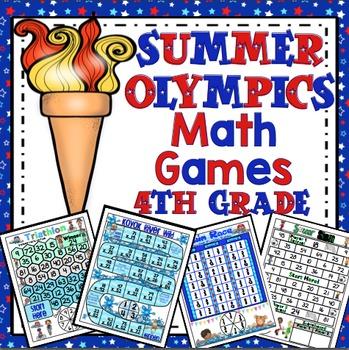 Olympic Math Games 4th Grade