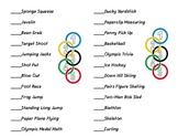 Olympic Math Passport