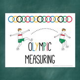 Olympic Measuring- Estimation, Non-Standard units, Graphing, Opinion Writing