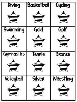 Olympic Medal Literacy Centers