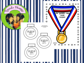 Olympic Medal Template