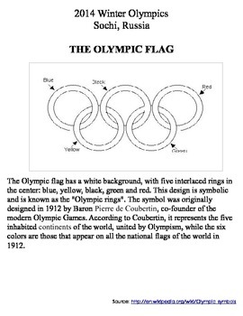 Olympic Mini-Book