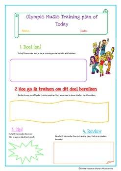 Olympic Music Training Plan (Dutch Version)
