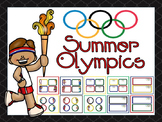 Olympic Name Tags and Name Plates EDITABLE