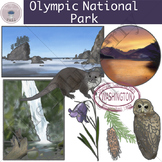 Olympic National Park Clip Art Set