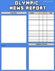 Olympic News Report (Editable in Google Slides)