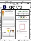 Olympic Newspaper - PyeongChang Winter 2018 Olympics