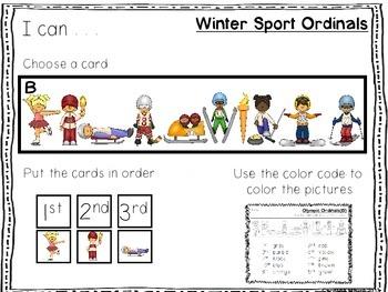 Winter Sport Ordinals