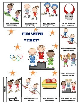 "Olympic Pronouns-Fun with ""They"""