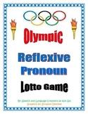 Olympic Reflexive Pronoun Lotto Game