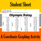 Olympic Relay - A Coordinate Graphing Activity