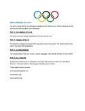 Olympic Research Paper