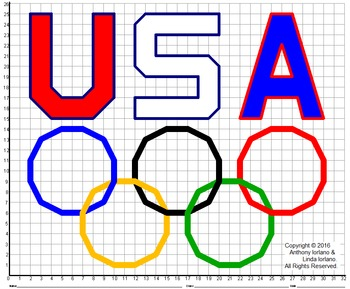 Olympic Rings Mystery Picture